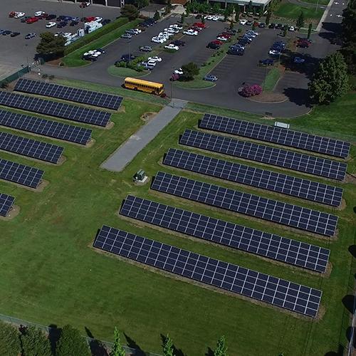 Clark County Pud Community Solar Project A Amp R Solar