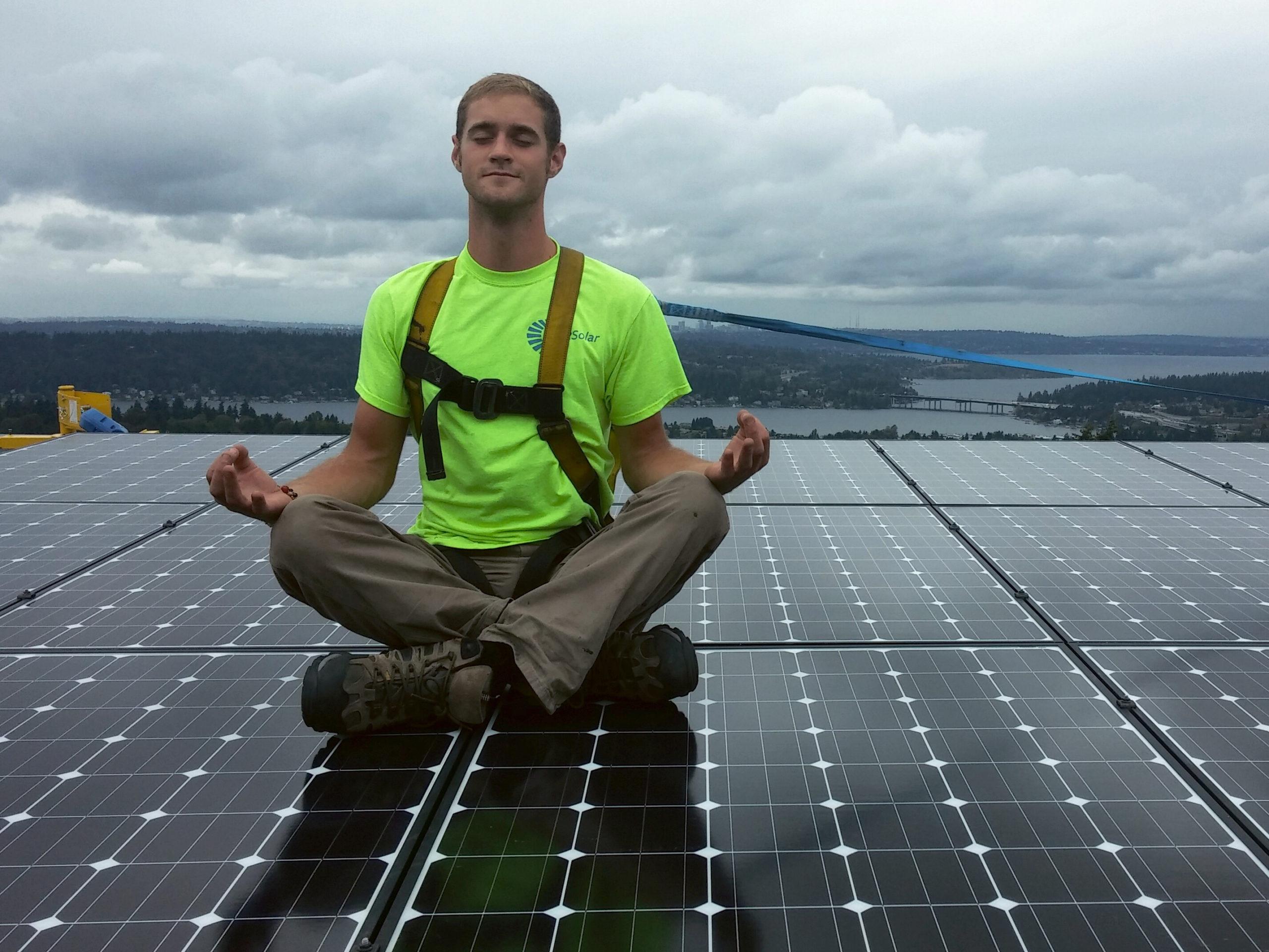 A little solar zen